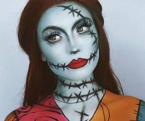 makeup, Halloween, and beauty image