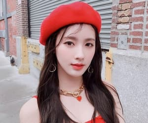 asian, beret, and g idle image