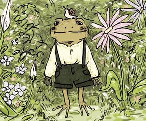 art, frog, and cute image