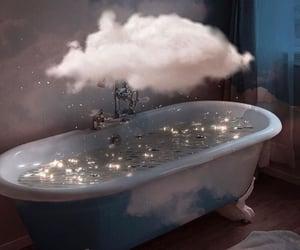 clouds, bath, and beautiful image