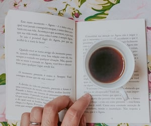 autoral, coffee, and flowers image