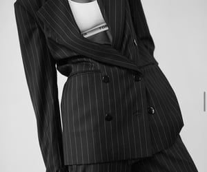 suit, tommy hilfiger, and womenswear image