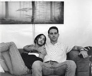 black and white, Yasmin, and gerald image