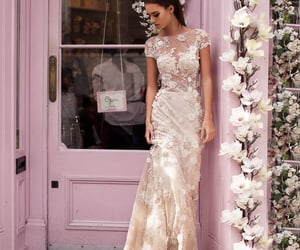haute couture, london, and dress image