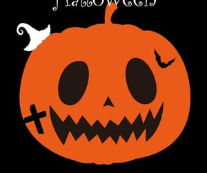 background, Halloween, and pumpkin image