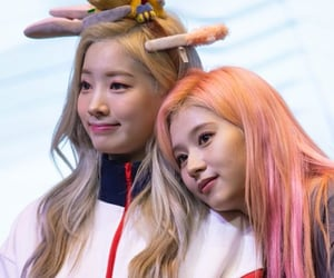 twice, sana, and saida image