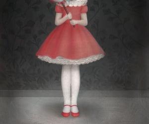 art, little red riding hood, and nicoletta ceccoli image