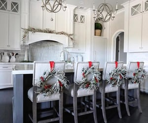christmas, home decor, and dream kitchen image