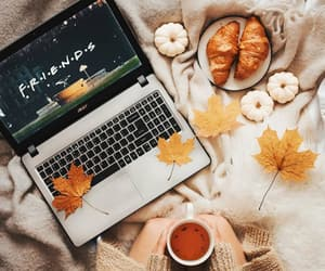 autumn, cafe, and coffee image