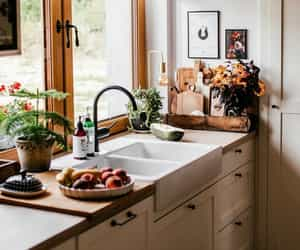 aesthetic, fall, and kitchen image