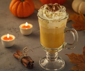 autumn, candles, and Cinnamon image