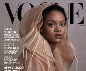 rihanna, fashion, and vogue image