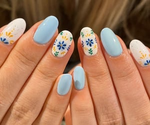 art, beauty, and manicure image