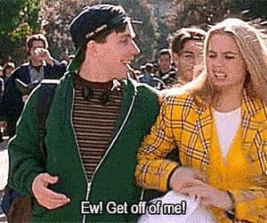 alicia silverstone, Clueless, and gif image