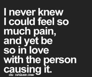 sad, love, and broken image