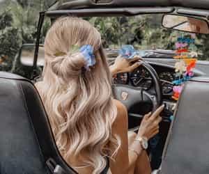 bright, fashion, and long hair image