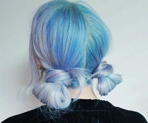 colored hair, fashion, and cute image