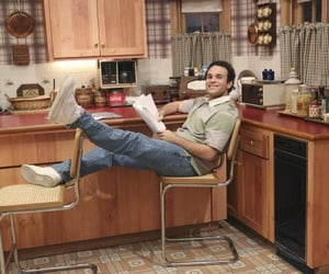 actor, kitchen, and study image