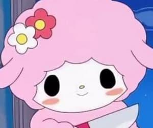 anime, sanrio, and pink image