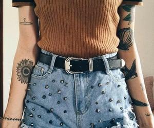 fashion, tattoo, and alternative image