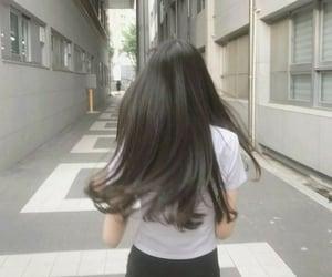 girly, hair, and ulzzang image