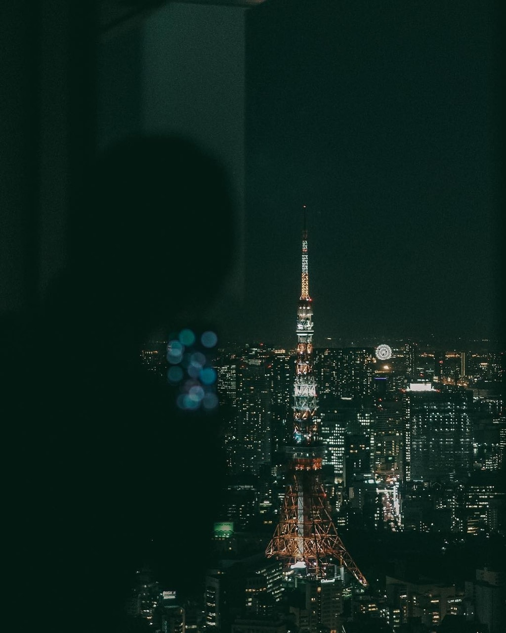 cities, city lights, and japan image