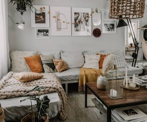 decor, living room, and cute image