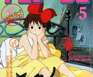 kiki's delivery service, anime, and ghibli image