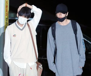 airport, taehyung, and incheon image