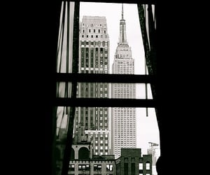 black and white, city, and Dream image