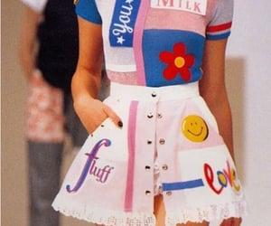 fashion, runway, and 90s image