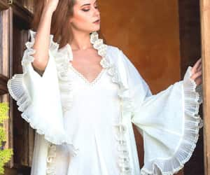 etsy, cotton lingerie, and cotton robe image