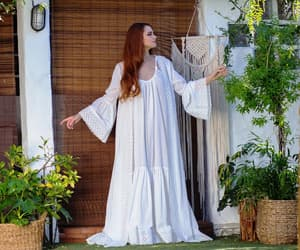etsy, pure cotton robe, and bridal lingerie image