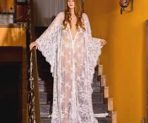 etsy, wedding kimono, and lace bridal gown image