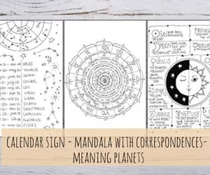 astrology, journal, and astrology signs image