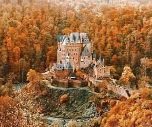 autumn and castle image