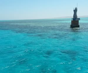 ocean, blue, and aegypt image