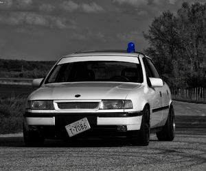 opel, police, and vectra image