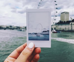 bridge, londoneye, and city image
