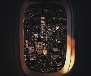 travel, city, and night image