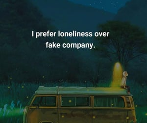 quotes, fake, and loneliness image