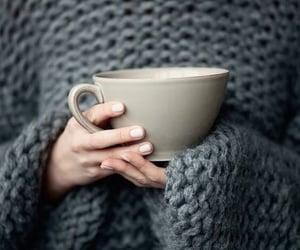 tea, coffee, and sweater image