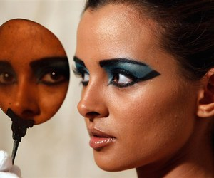 cleopatra, eye, and makeup image