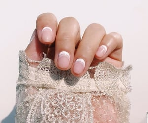 lace, nail art, and nails image
