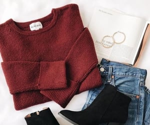 fashion, winter, and style image