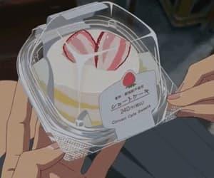 gif, makoto shinkai, and anime food image