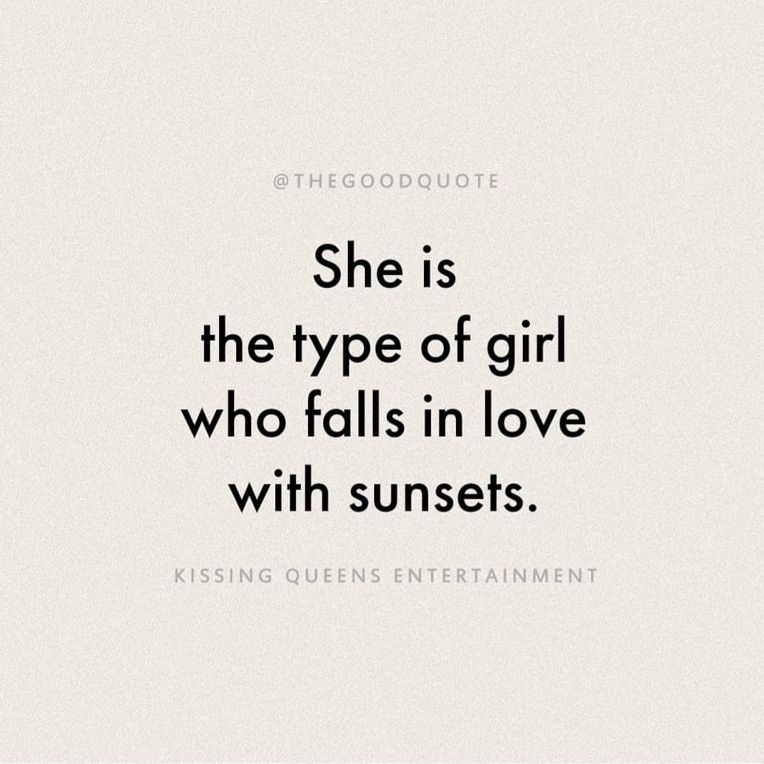 quotes, girl, and sunset image