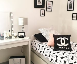 bedroom, classy, and girly image