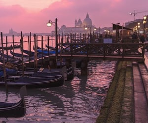 italy, pink, and sky image