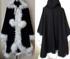 etsy, hooded cloak, and womens outerwear image